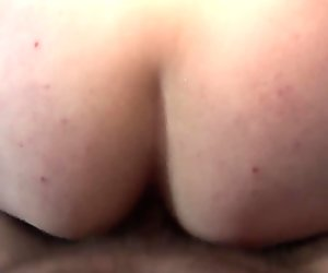 Chubby dutch prostitute ass jizzed on camera