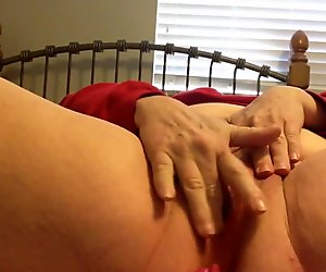 A little pussy and ass play