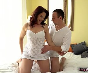 nasty GILF Cant fight back Fucking With a Big penis