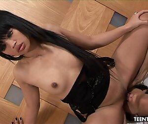 Fantastic Asian floozy getting her wet pussy fucke