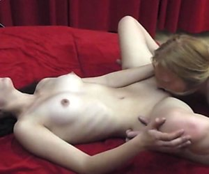 19yo rock chick gets licked and rides on cock