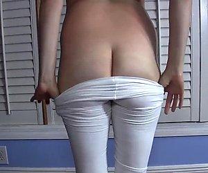 Zeit für eine Nahaufnahme Arschloch Falten Training, Sperma Uhr