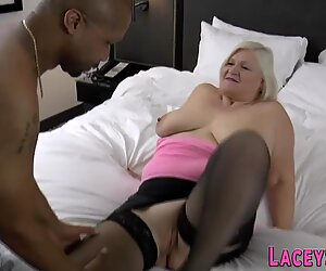 British grandmother gets mouth fucked