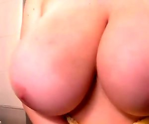Samantha Lily Teasing Huge Tits