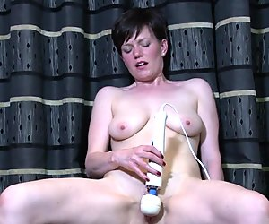 Multi Orgasmic MILF Pops Out Pussy Pulsating Orgasms