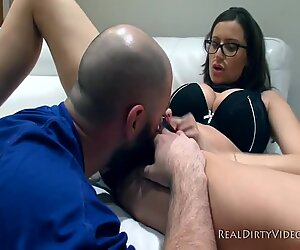 All Natural Huge Tit MILF Sensual Jane Blows Ralph Long