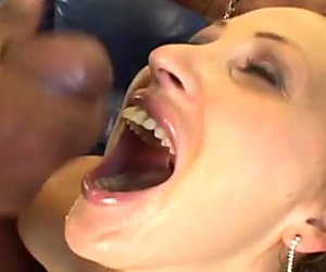 Bitchie blond heads ready for double BBC penetration for orgasm