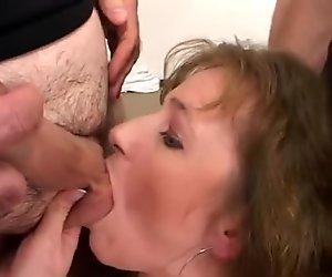 wild anal gangbang orgy