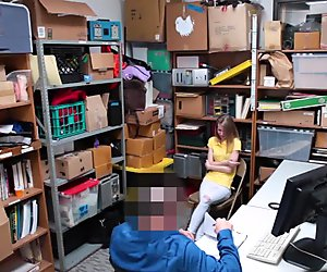 Catarina Petrov blowjob the LP Officers big cock