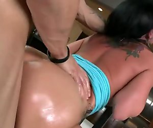 Huge ass ho Katie St Ives pussy plowed