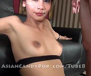 Moe the asian money shot