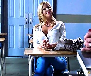 Brazzers - Parent teacher threesome