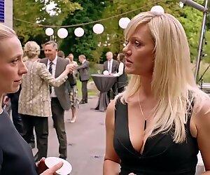 Anna Schudt - busty MILF in dress, Dekollete