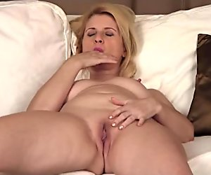 Old Bitch Fingering Herself