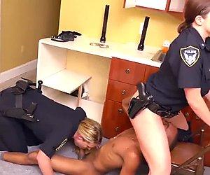 Police cock interrogating Black Male