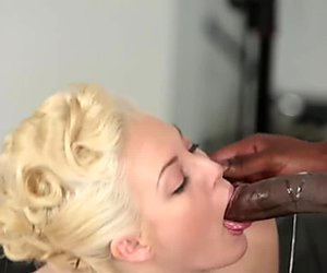 TeensLoveBlackCocks - Horny BBC Photographer Fucks Blonde Model