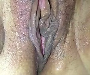 Sexy wife's toys with big clit and wet pussy