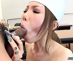 Japanese Girl, Moe Yazawa Rides a Hard Dick, Uncensored