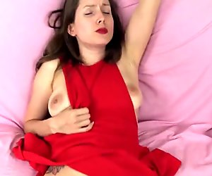 Lelu Love-Red Dress POV Virtual Sex