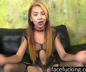 Asian Nympho Kimberly Chi Deepthroats Cocks - Chi Chi