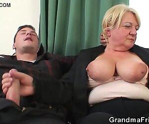 2 dudes drill boozed old granma