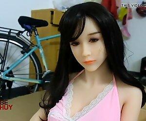Unboxing sex doll WM Dolce 165cm