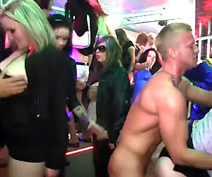 Real euroslut amateur nailed by strippers
