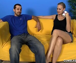 Sweet Couargives The Handjob Of The Century