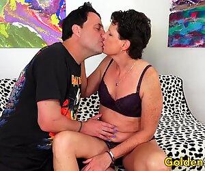Mature Tart Beth McKenna Sucks and Fucks