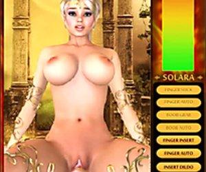 Solaras Plasma - 3D adult computer game