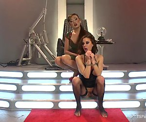 Space The Final Frontier For Fucking Venus Lux and Gia DiMarco