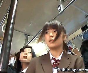 Oriental Babe Has Public Sex Jav