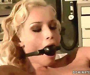 Kathia Nobili getting tied up