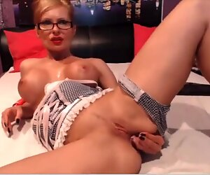 Webcam maîtresse d'école