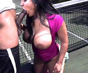 There is nothing like a decent game of tennis to get Kiara Mia going