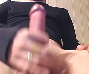 My solo 25 (Lying back edging out cum)