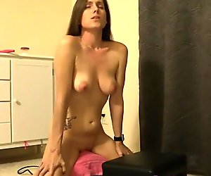 Lelu Love-Bra Panties Strip Sybian Riding Orgasm