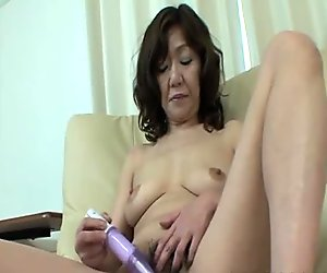 Eriko Nishimura - JAV Oldie Riding A Young Cock