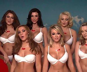 Jodie G, Melissa D, Alice G, Daisy W, Lucy C, Ellie R, Robyn H & Geena M!