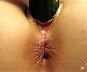 I was drunk :). Huge cumshot!!! then I play with a cucumber :)