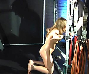 Bondage bdsm girl in hardcore punishment to satisfy her fetish