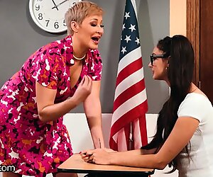 Ryan Keely Shows her Student Eliza Ibarra the Benefits of being a Nerd