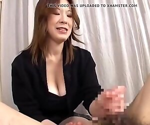 Japanese Mature HJ Cum 1
