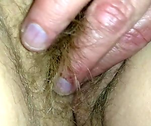My wifes sweet hairy pussy