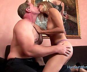 Blonde Milf in Hardcore Action