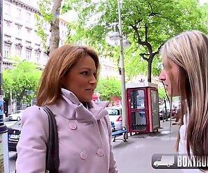 La chaude Szilvia Lauren surprise par l'agent modèle lesbienne