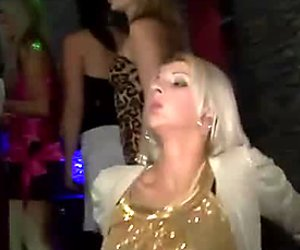 Glamorous MILF hotties are getting rammed bad in a club