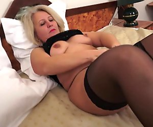 Hot grandma and her old pussy