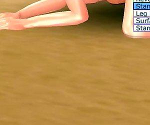 Loli Schoolgirl Maya Fuck: Sexy Beach 3