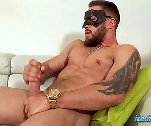 Gay solo masturbation